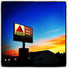 High Gas Prices But Let's Enjoy The Sunset. #miltonvt #vt