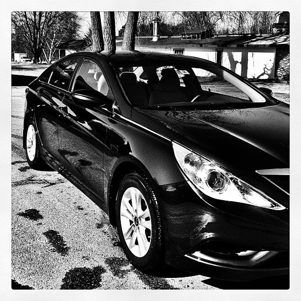 She is clean and shiny. #hyundai