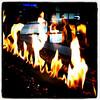 Flames at #Marriott #Redmond Town Center hotel. #fire