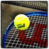 Wilson hits Penn! #tennis #miltonvt # vt