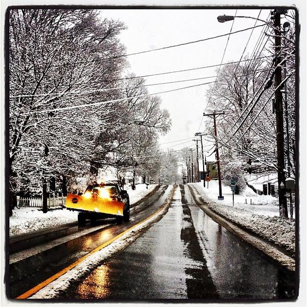 Tis The Season! The plows are out. #milton #btv #vt
