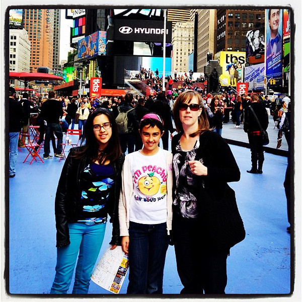 My 3 most important gorgeous women in my life. #family #kids #wife #nyc
