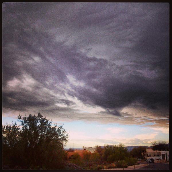 "#clouds #sky #tucson #az via Instagram <a href=""http://instagr.am/p/WmjP29iilO/"">http://instagr.am/p/WmjP29iilO/</a>"