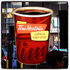 Tim Horton's in #NYC! #coffee #donuts #canadian