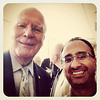 Me and the Big Man, Senator Patrick Leahy at #UVM. @senatorleahy #btv #vt