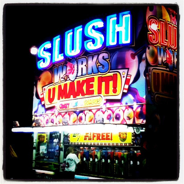 Slushie at the Fair. #btv #vt #summer #fairground