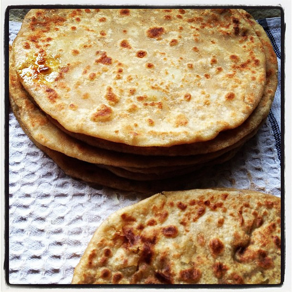Mom's delicious #roti. #chapati #mom #food