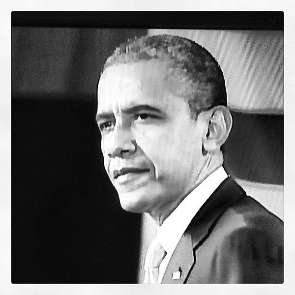President Barack Obama in Burlington, Vernont today. #btv #vt #potusbtv