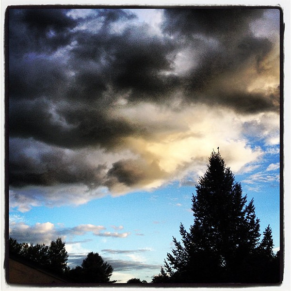 Cloudy With a Chance of.... #miltonvt #vt