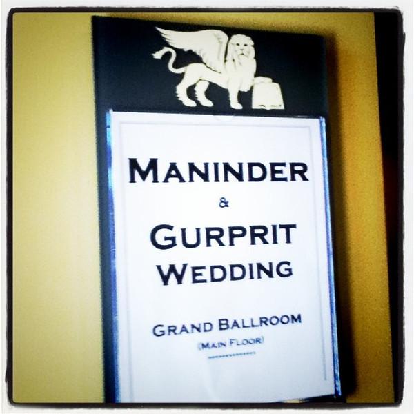 Great #wedding in Ottawa yesterday. Reception was a lot of #fun.