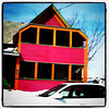 Striking colors for a house. #wild #colors #vt #btv
