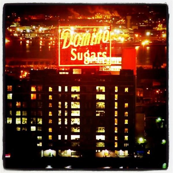 Domino Sugars in #Baltimore, #Maryland.  #nightshot #night #factory #lights
