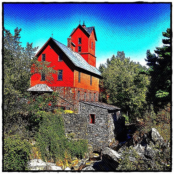 Jericho Old Mill. #vt