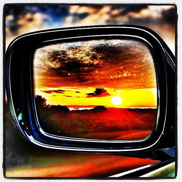 Side Rear View #Sunset. #btv #vt