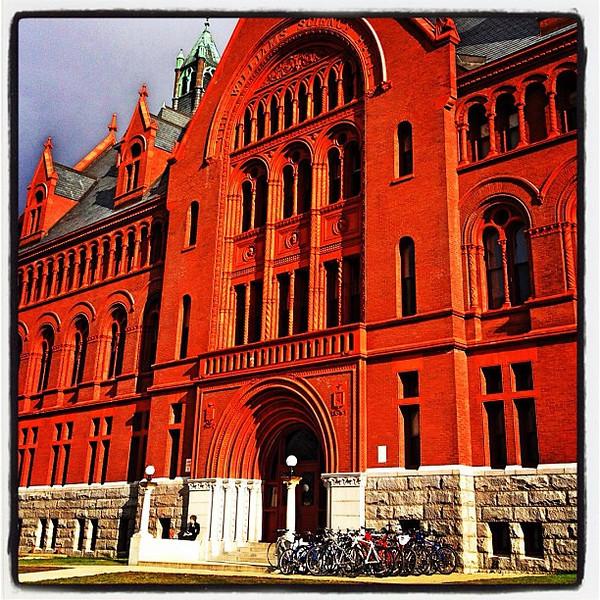 Williams Hall. Nice #architecture. #uvm #btv