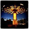 YoYo Ma! The spinny at the fair. #fair #fairground #slowshutter #lights #creative #btv #vt