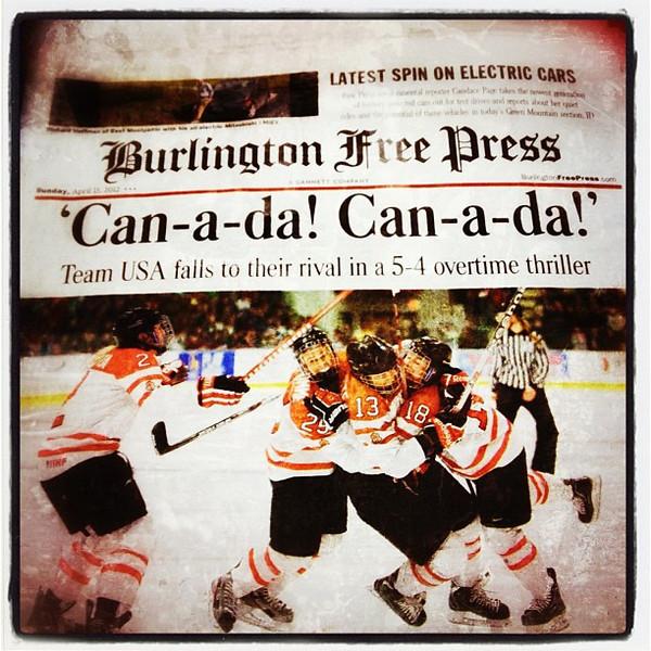 Great job girls! Congratulations #Canada!
