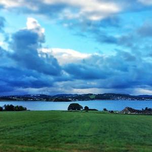 #morning #greens&blues #norway via Instagram http://ift.tt/1uJkuPf