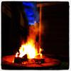 Backyard Campfire. #miltonvt #vt