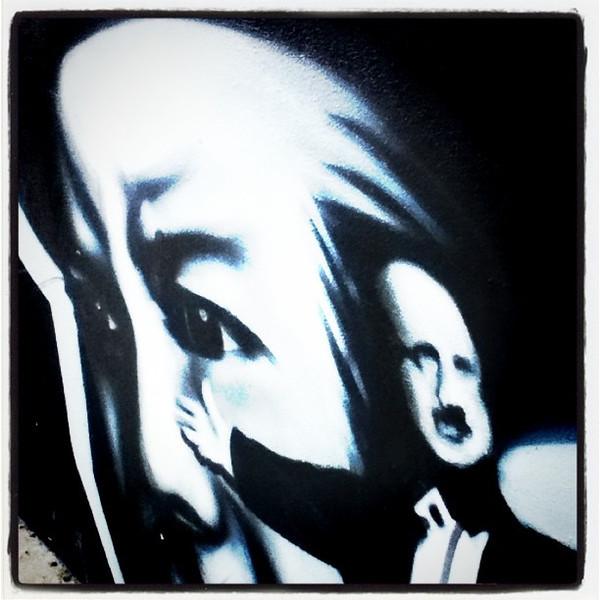 And I present you, the eyes! #btv #graffiti #art