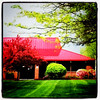 Pizza Hut's famous red #roof. #pizza #hut #red #architecture #btv #VT