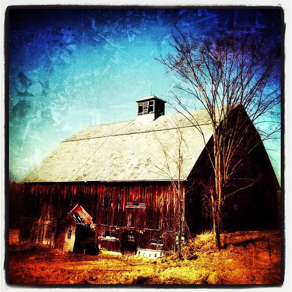 Vermont Barn. #miltonvt #btv #vt