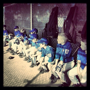 #Littleleague #Baseball season is starting up again.