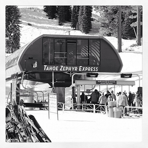 Where is all the snow this year?  #tahoe #skiing #snow
