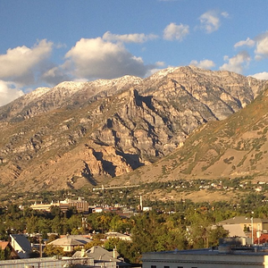 The #mountains outside #Provo look pretty awesome today. #nofilter