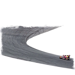 Turn 2 at Laguna Seca. #motogp #motorcycle #racing #repsol #honda #lagunaseca #cutout