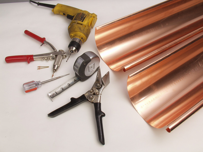 """With just a few basic hand tools and instructions most people can install a complete system.  <a href=""""http://www.abraingutters.com"""">http://www.abraingutters.com</a>"""