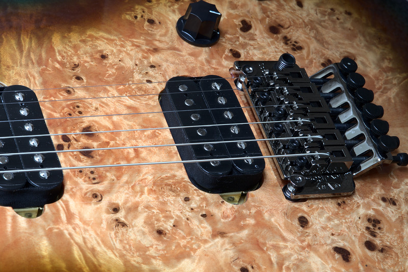Detail of EVH Wolfgang Standard Exotic - Midnight Sunset