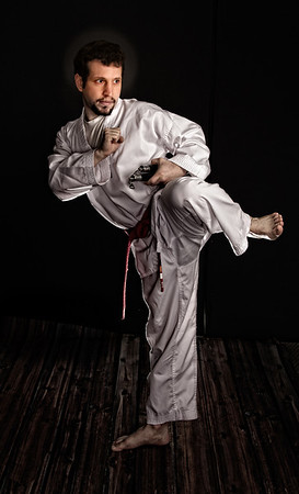 Love the martial artists! Great flexibility.and poise which only get better as the students advance.  I am looking forward to more portraits as Brad continues in Tae Kwon Do.