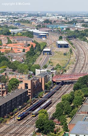Stunning views of the Railways in London