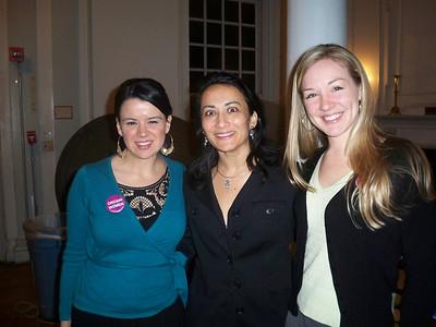 Erin Saiz Hanna, Asra Nomani and Aisha Taylor