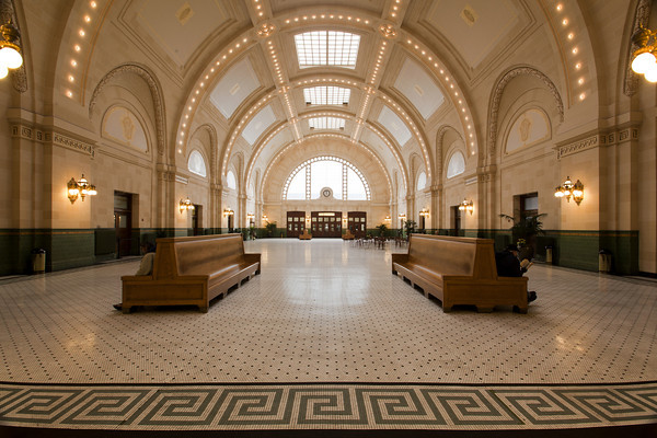 The Great Hall At Union Station, Seattle Washington.