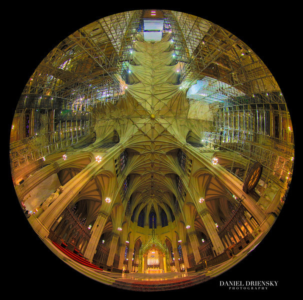 'Interior of The St. Patrick Cathedral'<br /> New York City, Oct 2013<br /> Photo © Daniel Driensky 2013