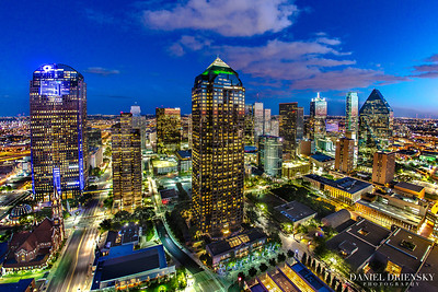 'Bird's Eye View of Dallas' April 2013
