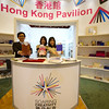Hong Kong Pavillion - great stand, lovely people, variety of books.