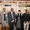 Some of the team and Jama'at guests at the show with Amir Sahib - (Photo courtesy of China Desk)