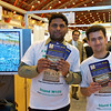 Leaflets promoting the stand were distributed by Khuddam volunteers at special access points