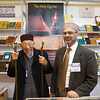 Osman Chau Sahib and Munir-din Shams Sahib at the Islam International Publications stand