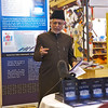 The Imam of the London Fazl Mosque, Ataul Mujeeb Rashid Sahib, officially launches the  book Tohfa-e-Qaisariyyah - A Gift to the Queen at the London Book Fair.