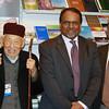 Osman Chou Sb, Rafiq Hayat - Amir Sahib UK, Munir-ud-Din Shams Sb. (Photo courtesy of China Desk)