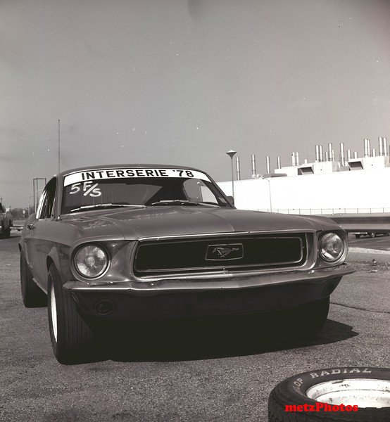Randy Hall's Mustang!