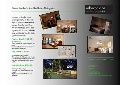 REAL ESTATE PHOTOGRAPHY  Click on image to see price details for professional real estate photography....  COMMERCIAL ARCHITECTURE   Starts from $220.00  Phone Rebecca Jane Today for more details 0422 408 063