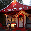 The eclectic Turk's Inn near Hayward, WI