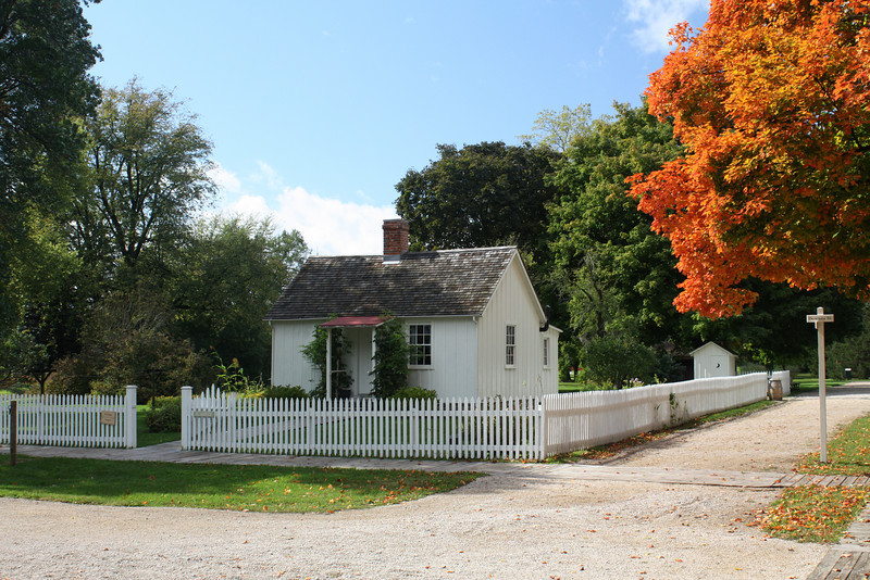 Herbert Hoover birthplace in West Branch, IA