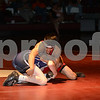 2014 Iowa vs Canada FILA Cadet Duals - Independence, IA<br /> 46 Brock Henderson (Iowa) Fall Earl Lagos