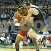 #1 Iowa 28 vs #15 Iowa State 8<br /> 184 — Sammy Brooks (I) maj. dec. Lelund Weatherspoon, 9-1